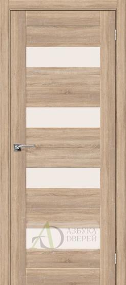 Межкомнатная дверь с Экошпоном Порта-23 ПО Light Sonoma