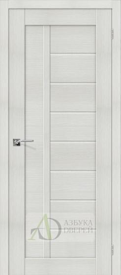 Межкомнатная дверь с Экошпоном Порта-26 ПГ Bianco Veralinga