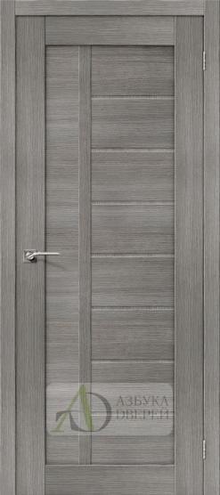 Межкомнатная дверь с Экошпоном Порта-26 ПГ Grey Veralinga