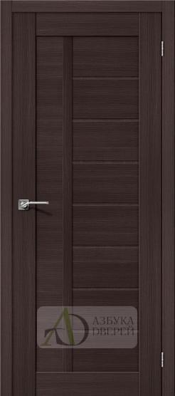 Межкомнатная дверь с Экошпоном Порта-26 ПГ Wenge Veralinga