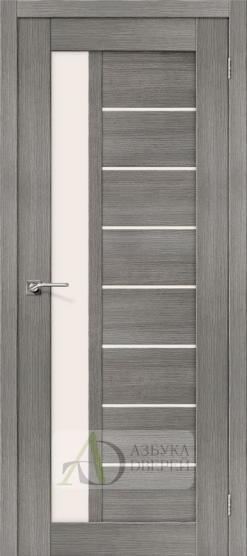 Межкомнатная дверь с Экошпоном Порта-27 ПО Grey Veralinga