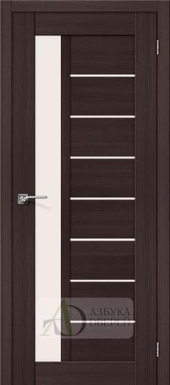 Межкомнатная дверь с Экошпоном Порта-27 ПО Wenge Veralinga