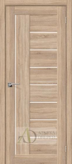 Межкомнатная дверь с Экошпоном Порта-29 ПО Light Sonoma