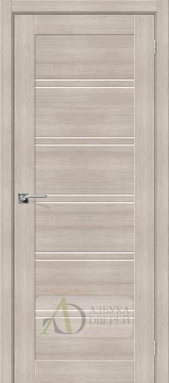 Межкомнатная дверь с Экошпоном Порта-28 ПО Cappuccino Veralinga