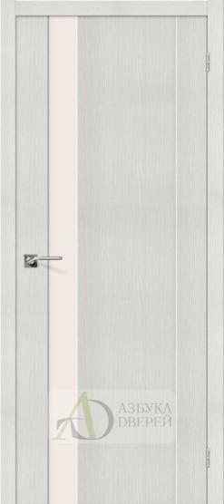 Межкомнатная дверь с Экошпоном Порта-11 ПО Bianco Veralinga
