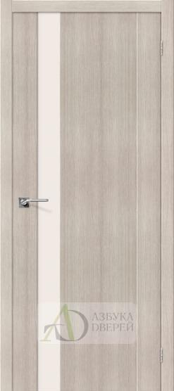 Межкомнатная дверь с Экошпоном Порта-11 ПО Cappuccino Veralinga