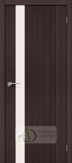 Межкомнатная дверь с Экошпоном Порта-11 ПО Wenge Veralinga