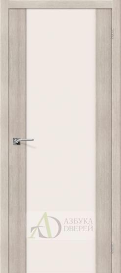 Межкомнатная дверь с Экошпоном Порта-13 ПО Cappuccino Veralinga