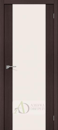 Межкомнатная дверь с Экошпоном Порта-13 ПО Wenge Veralinga