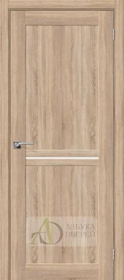 Межкомнатная дверь с Экошпоном Порта-19.3 ПО Light Sonoma