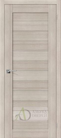 Межкомнатная дверь с Экошпоном Порта-21 ПГ Cappuccino Veralinga