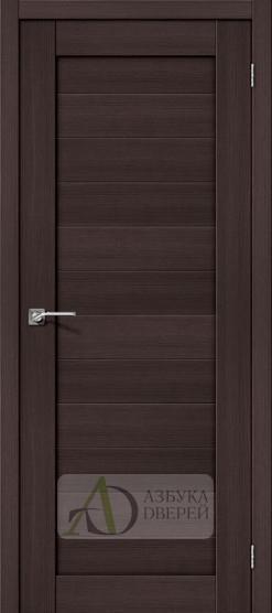 Межкомнатная дверь с Экошпоном Порта-21 ПГ Wenge Veralinga