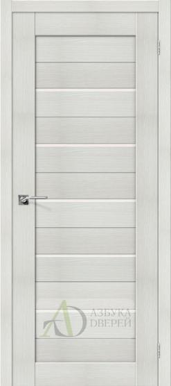 Межкомнатная дверь с Экошпоном Порта-22 ПО Bianco Veralinga