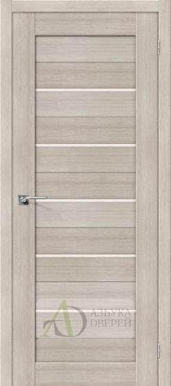 Межкомнатная дверь с Экошпоном Порта-22 ПО Cappuccino Veralinga
