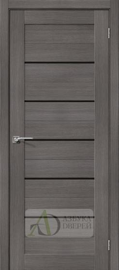 Межкомнатная дверь с экошпоном Порта-22 BS Grey Veralinga