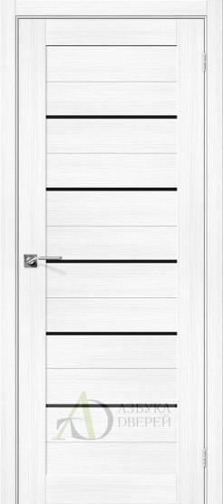 Межкомнатная дверь с экошпоном Порта-22 BS Snow Veralinga