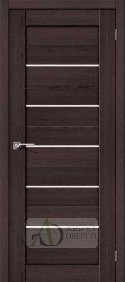Межкомнатная дверь с Экошпоном Порта-22 ПО Wenge Veralinga