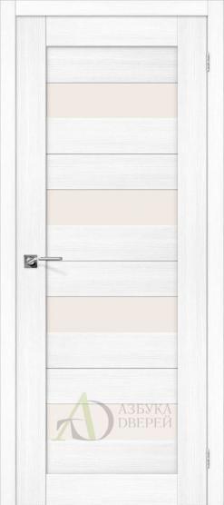 Межкомнатная дверь Порта-23 ПО Snow Veralinga