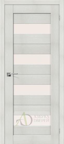 Межкомнатная дверь с Экошпоном Порта-23 ПО Bianco Veralinga
