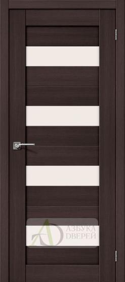 Межкомнатная дверь с Экошпоном Порта-23 ПО Wenge Veralinga