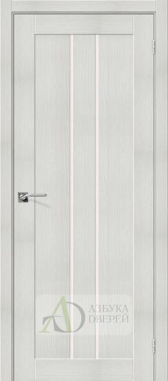 Межкомнатная дверь с экошпоном Порта-24 Bianco Veralinga