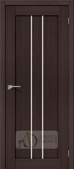Межкомнатная дверь с Экошпоном Порта-24 ПО Wenge Veralinga
