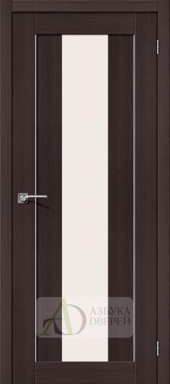 Межкомнатная дверь с Экошпоном Порта-25 alu ПО Wenge Veralinga