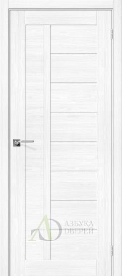 Межкомнатная дверь с экошпоном Порта-26 Snow Veralinga