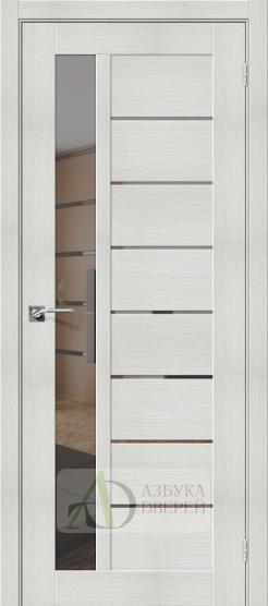 Межкомнатная дверь с экошпоном Порта-27 MG Bianco Veralinga