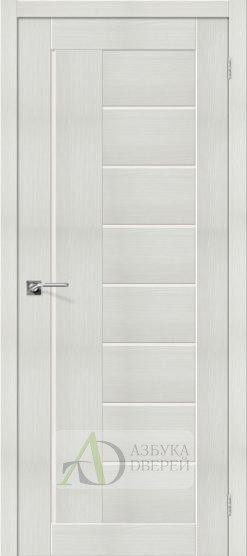 Межкомнатная дверь с Экошпоном Порта-29 ПО Bianco Veralinga