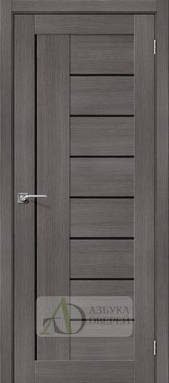 Межкомнатная дверь с экошпоном Порта-29 BS Grey Veralinga