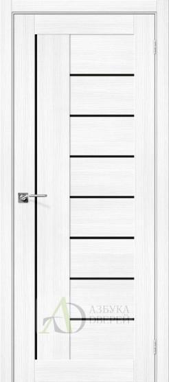 Межкомнатная дверь с экошпоном Порта-29 BS Snow Veralinga