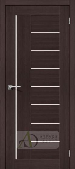 Межкомнатная дверь с Экошпоном Порта-29 ПО Wenge Veralinga