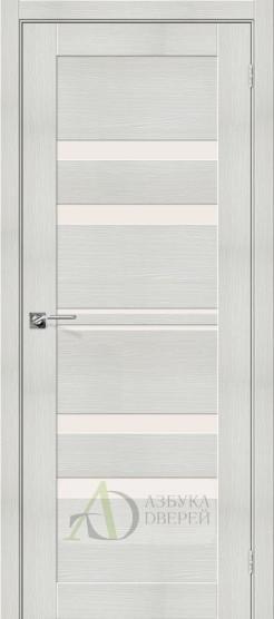 Межкомнатная дверь с экошпоном Порта-30 Bianco Veralinga
