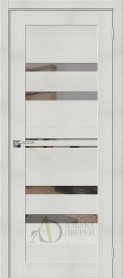 Межкомнатная дверь с экошпоном Порта-30 MG Bianco Veralinga