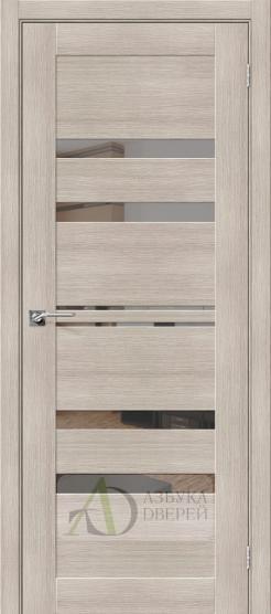 Межкомнатная дверь с экошпоном Порта-30 MG Cappuccino Veralinga
