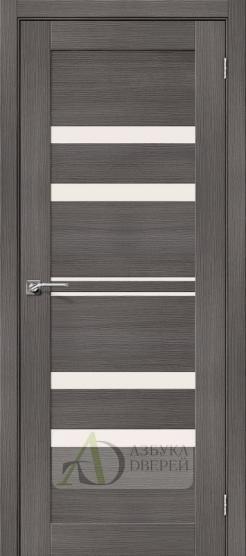 Межкомнатная дверь с экошпоном Порта-30 Grey Veralinga