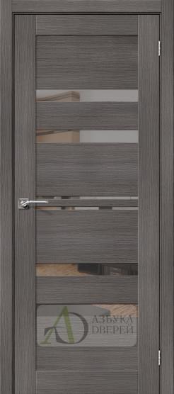 Межкомнатная дверь с экошпоном Порта-30 MG Grey Veralinga