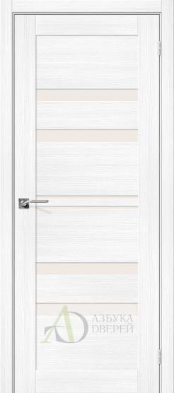 Межкомнатная дверь с экошпоном Порта-22 Snow Veralinga