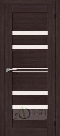 Межкомнатная дверь с экошпоном Порта-30 Wenge Veralinga