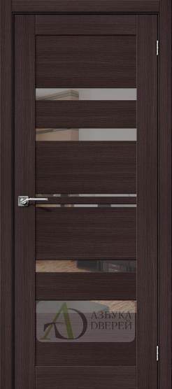 Межкомнатная дверь с экошпоном Порта-30 MG Wenge Veralinga