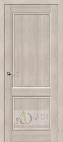 Межкомнатная дверь с экошпоном Порта-62 ПГ Cappuccino Veralinga