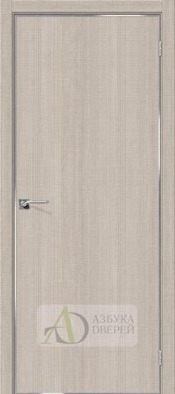 Межкомнатная дверь с экошпоном Порта-50 4A Cappuccino Crosscut