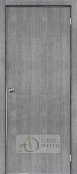 Межкомнатная дверь с экошпоном Порта-50 4A Grey Crosscut