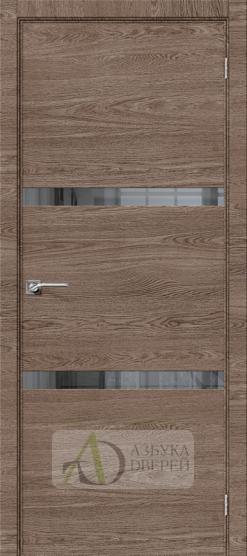 Межкомнатная дверь с экошпоном Порта-55 4AF East Skyline/Mirox Grey