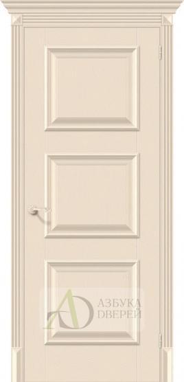 Межкомнатная дверь с экошпоном Классико-16 Ivory