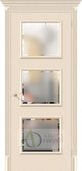 Межкомнатная дверь с экошпоном Классико-17.3 Ivory