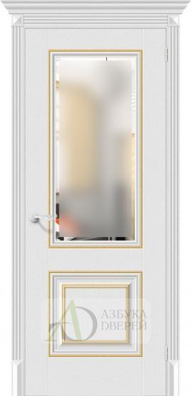 Межкомнатная дверь с экошпоном Классико-33G-27 Virgin