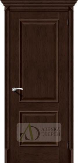 Межкомнатная дверь с экошпоном Классико-12 (new) Antique Oak