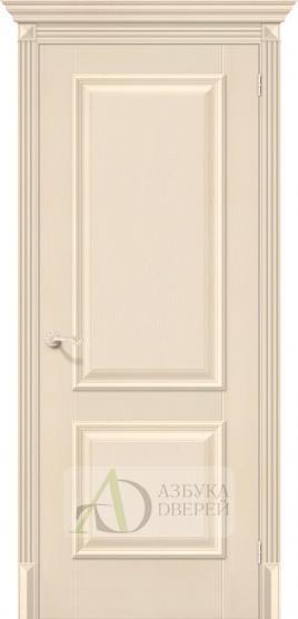 Межкомнатная дверь с экошпоном Классико-12 Ivory